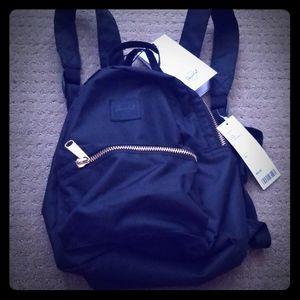 Herschel Black Mini Backpack New